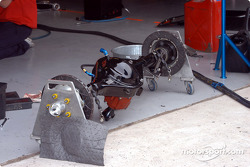 Entire rear assembly