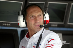 Toyota race engineer Humphrey Corbett