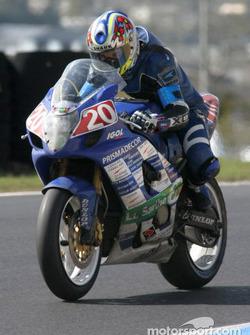 #20 Sarthe Racing Kart Suzuki GSXR: Thomas Metro, Jocelyn Hars, Giovanni Legname