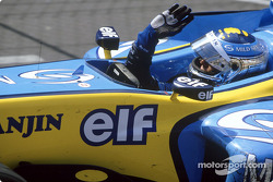 Race winner Jarno Trulli