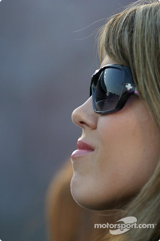 Shana Mayfield watches husband qualify
