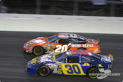 Tony Stewart and Johnny Sauter