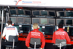 Toyota pitwall