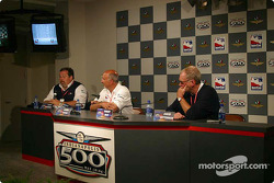 Press conference: Scott Roembke, Bobby Rahal and David Letterman