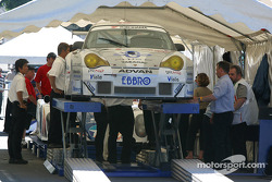 Choroq Racing Team Porsche 911 GT3 RSR at first stage