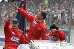 Drivers presentation: Jaime Melo Jr., Jean-René de Fournoux, Stéphane Daoudi