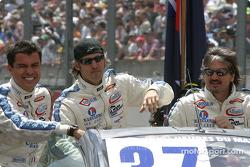 Drivers presentation: Paul Belmondo, Claude-Yves Gosselin, Marco Saviozzi