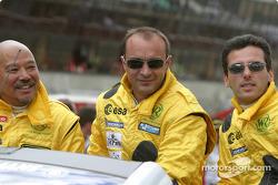 Drivers presentation: Yojiro Terada, Patrice Roussel, Olivier Porta