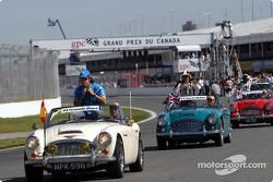 Drivers parade: Fernando Alonso