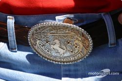 Michael Schumacher's belt buckle