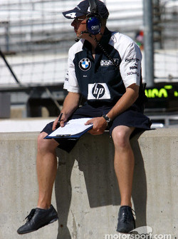 Williams-BMW team member