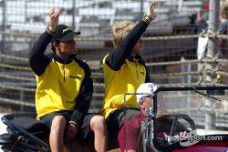 Drivers presentation: Giorgio Pantano and Nick Heidfeld