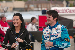 Patrick Carpentier with wife Anick