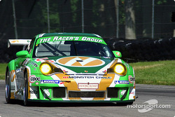 #66 The Racers Group Porsche 911 GT3 RS: Patrick Long,  Cort Wagner