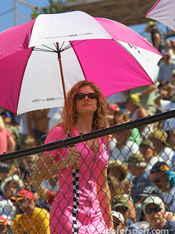 Another lovely umbrella girl