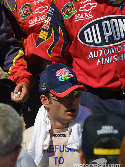 Victory circle: race winner Jeff Gordon