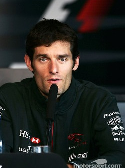 Press conference: Mark Webber