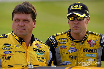 Robbie Reiser and Matt Kenseth