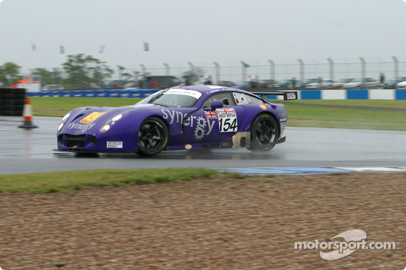#154 Chamberlain-Synergy Motorsport TVR Tuscan T400R: Bob Berridge, Lee Caroline, Chris Stockton