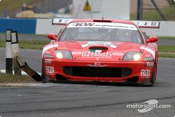 #2 BMS Scuderia Italia Ferrari 550 Maranello: Fabrizio Gollin, Luca Cappellari