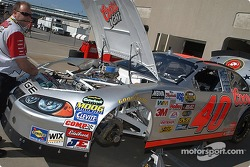 Sterlings crew prepare the #40 Coors Light Chevy
