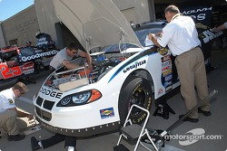 The ALLTEL Dodge gets inspected