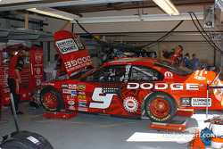 Evernham Racing garage area