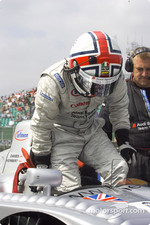 Jamie Davies on the starting grid