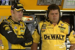 Matt Kenseth and Robbie Reiser