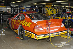 Brendan Gaughan's car in garage