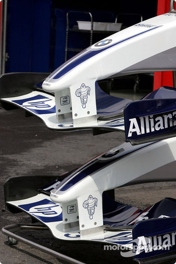 Williams-BMW nose cones