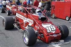 Paul White's car awaits him
