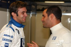 Antonio Pizzonia and Juan Pablo Montoya