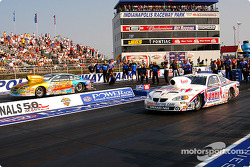 Pro Stock final: Kenny Koretsky and Greg Anderson