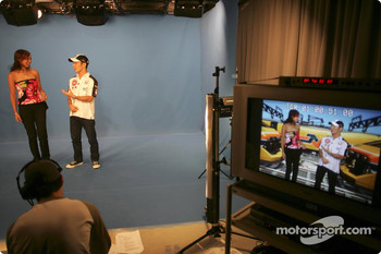 TV appearance for Takuma Sato