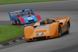 #2-  McLaren M6B of Robert Ryan #17- James Freeman Matich SR-3.