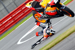 Dani Pedrosa, Repsol Honda Team crashes