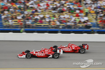 Scott Dixon, Target Chip Ganassi Racing and Dario Franchitti, Target Chip Ganassi Racing