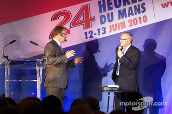 ACO annual press conference: ACO VP Marketing Fabrice Bourrigaud  and ACO General Director Rémy Brouard