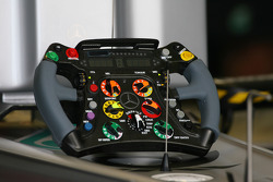 Michael Schumacher, Mercedes GP steering wheel