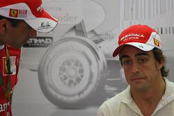 Marc Gene, Test Driver, Scuderia Ferrari and Fernando Alonso, Scuderia Ferrari