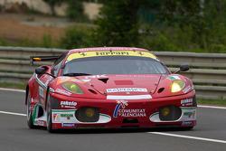 #95 AF Corse Ferrari F430 GT: Giancarlo Fisichella, Jean Alesi, Toni Vilander
