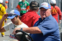 Vitor Meira and A.J. Foyt