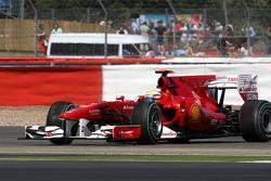 Felipe Massa, Scuderia Ferrari spins