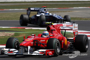 Fernando Alonso, Scuderia Ferrari Rubens Barrichello, Williams F1 Team