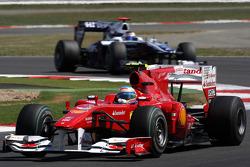 Fernando Alonso, Scuderia Ferrari Rubens Barrichello, Williams F1 Team