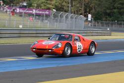 #28 Porsche 904 GTS 1964: Michiel Duijvendijk, Jan Lammers