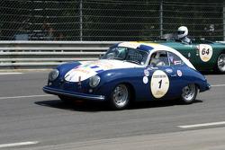 #1 Porsche 356 PreA 1952: Richard Clark, Andrew Prill