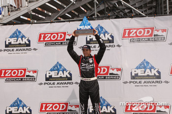 Polr winner Justin Wilson, Dreyer & Reinbold Racing