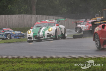 #54 Black Swan Racing Porsche 911 GT3 Cup: Timothy Pappas, Jeroen Bleekemolen